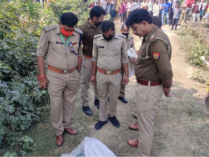 Dead Body of Girl Found in Uttar Pradesh Barabanki, Fear Strangled After  Rape   Teenager strangled to death in Barabanki; Dead body found in sack in  Sharda Canal, fear of murder after