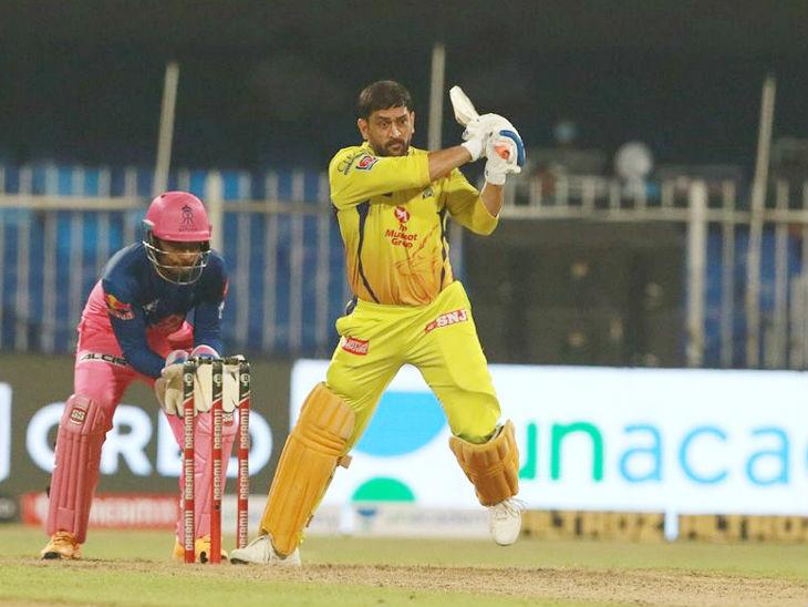 राजस्थान के खिलाफ चौथे मैच में धोनी 7वें नंबर पर बल्लेबाजी करने उतरे। वह 17 बॉल पर 29 रन बनाकर नाबाद रहे।