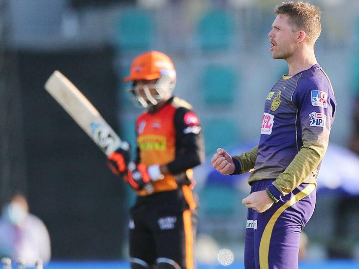 हैदराबाद के खिलाफ फर्ग्यूसन ने सुपर ओवर में 3 बॉल पर हैदराबाद के 2 विकेट लिए और सिर्फ 2 रन ही दिए।