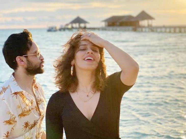 मालदीव में पति पी.कश्यप के साथ छुट्टियां मना रहीं शटलर साइना नेहवाल, इंस्टा पर शेयर कीं फोटोज स्पोर्ट्स,Sports - Dainik Bhaskar