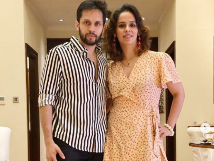 In women's badminton, world number-20 Saina Nehwal married P. Kashyap on December 14, 2018.  The marriage of both was simple.  Only family and close people were involved.