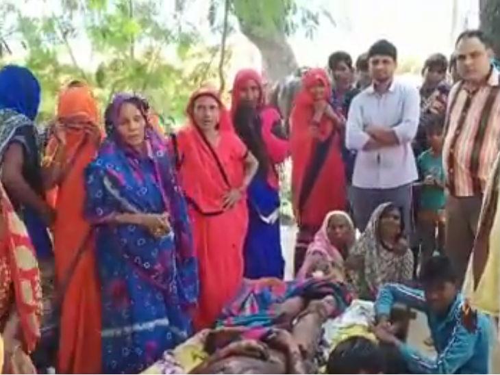 अमेठी में दलित प्रधान के पति को जिंदा जलाया, सांसद स्मृति के दखल के बाद एक गिरफ्तार|उत्तरप्रदेश,Uttar Pradesh - Dainik Bhaskar