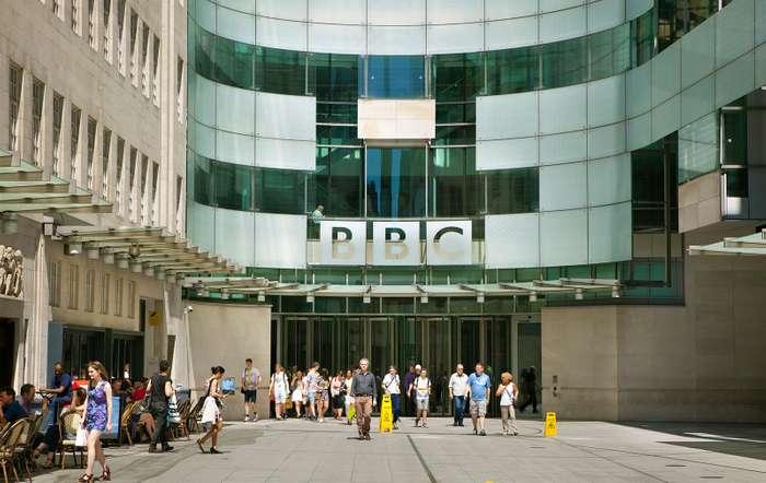 बीबीसी का लंदन स्थित मुख्यालय।