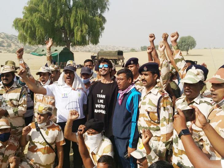 फिट इंडिया-मिशन 200 KM की शुरुआत, रिजिजू ने दिखाई हरी झंडी; विद्युत जामवाल होंगे मिशन का हिस्सा|देश,National - Dainik Bhaskar