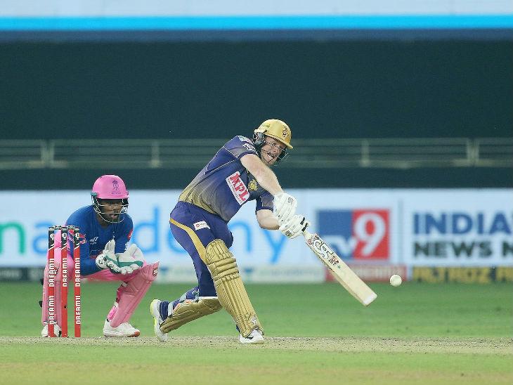 कोलकाता के कप्तान इयोन मोर्गन ने सबसे ज्यादा 68 रन की नाबाद पारी खेली। इसके बदौलत कोलकाता ने 7 विकेट पर 191 रन का स्कोर बनाया।