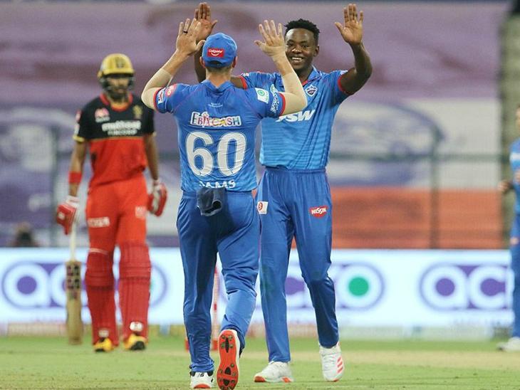 मैच में कगिसो रबाडा ने 2 विकेट लिए। इसी के साथ उन्होंने मुंबई इंडियंस के जसप्रीत बुमराह से पर्पल कैप वापस ले ली।