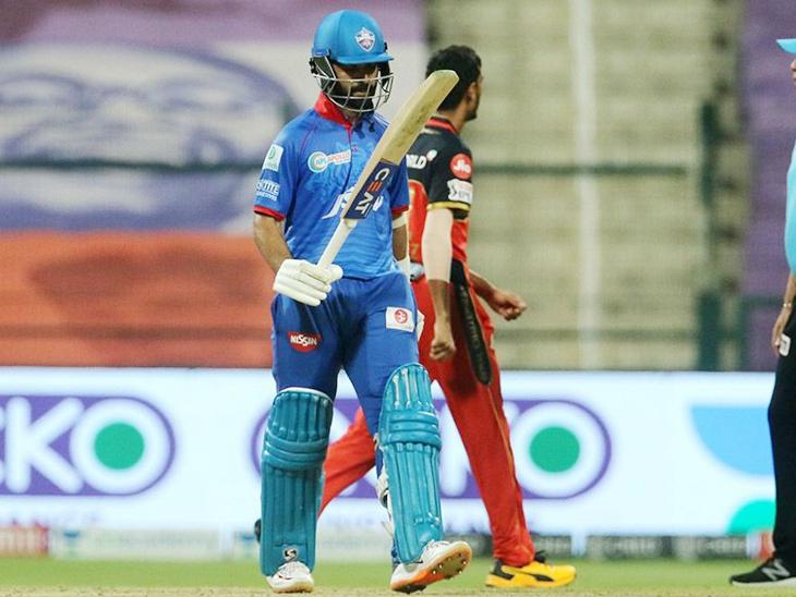 अजिंक्य रहाणे ने भी IPL में अपनी 28वीं फिफ्टी लगाई।
