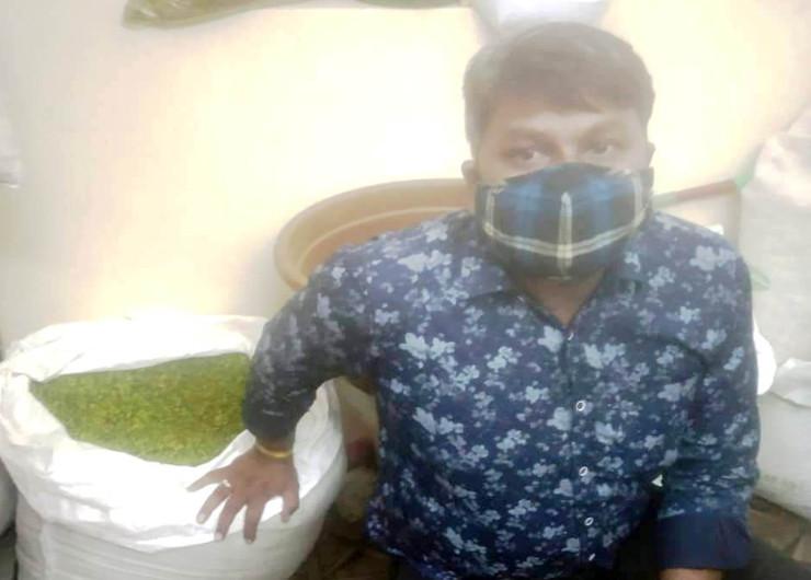 जयपुर में मूंगफली में हरा रंग मिलाकर 1200 रुपए किलो के भाव से बेचा जा रहा था नकली पिस्ता राजस्थान,Rajasthan - Dainik Bhaskar