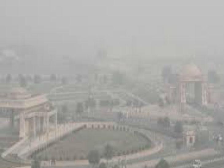 नवाबों की नगरी में सांस लेना हुआ मुश्किल; 24 घंटे में लखनऊ के एयर क्वालिटी इंडेक्स में 16 प्वाइंट की हुई बढ़ोतरी|उत्तरप्रदेश,Uttar Pradesh - Dainik Bhaskar