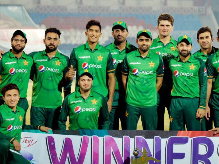 पाकिस्तान ने 3 मैचों की वन-डे सीरीज को 2-1 से अपने नाम किया। - Dainik Bhaskar