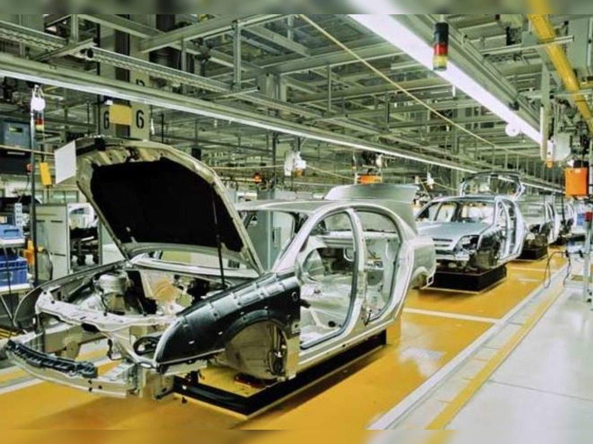 वडोदरा के पास हलोल में एमजी मोटर के प्लांट में कार बन रही है। (फाइल फोटो)