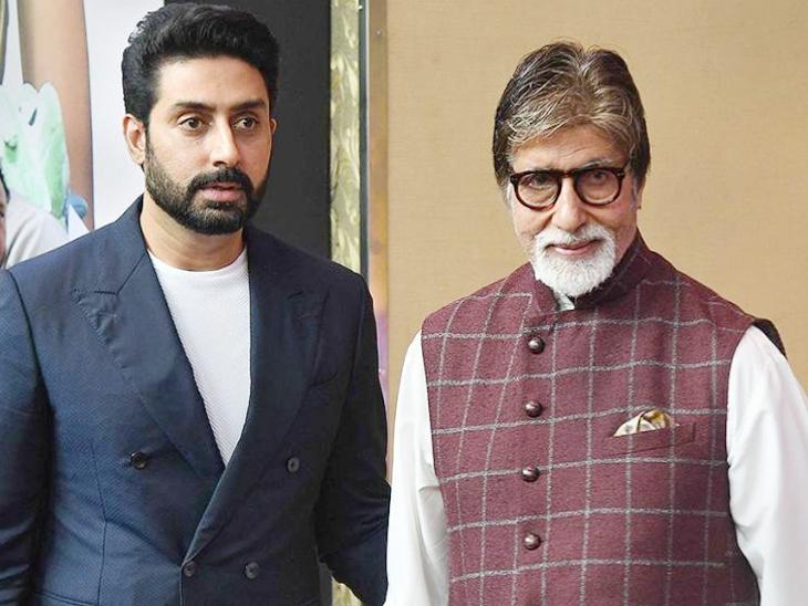 अभिषेक और अमिताभ बच्चन। अभिषेक बच्चन ने 2000 में फिल्म 'रिफ्यूजी' से बॉलीवुड डेब्यू किया था। - Dainik Bhaskar
