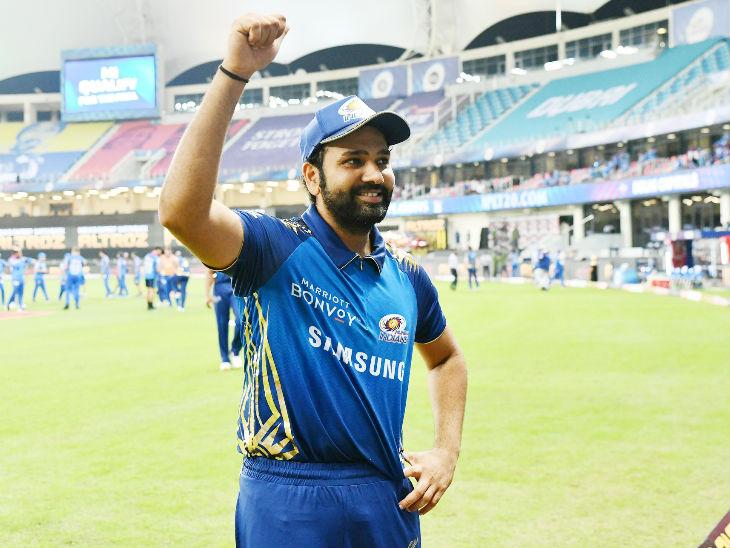 Mumbai captain Rohit Sharma looked happy after the win.