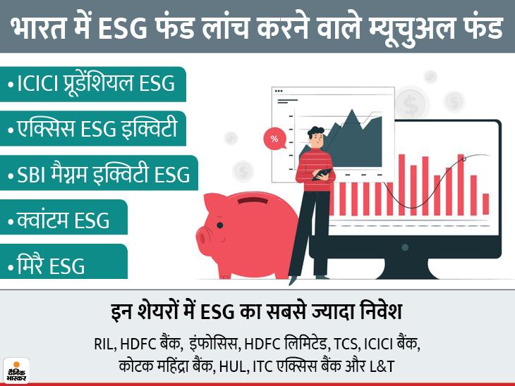 भारत में भी जोर पकड़ रहा है ESG फंड, इन म्यूचुअल फंड हाउस ने शुरू किया ESG पर फोकस|बिजनेस,Business - Dainik Bhaskar