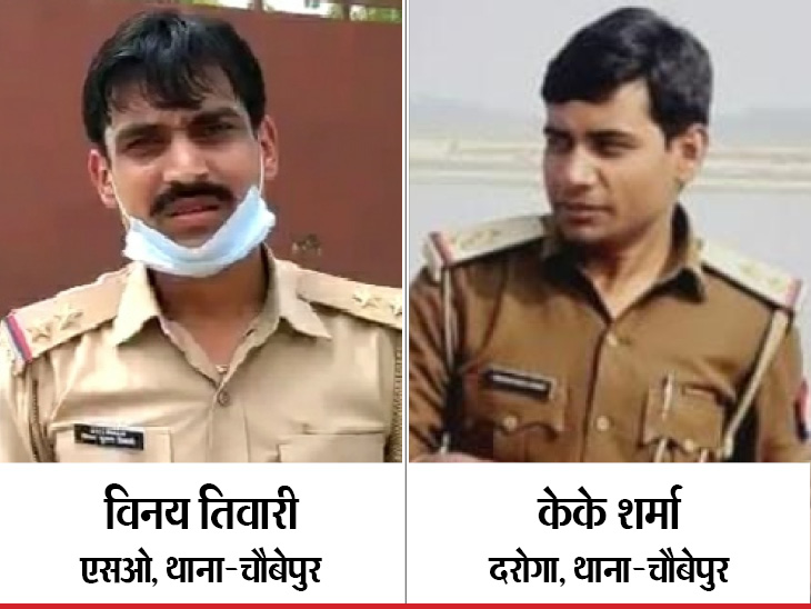 Both policemen are in jail on charges of whistleblowing.