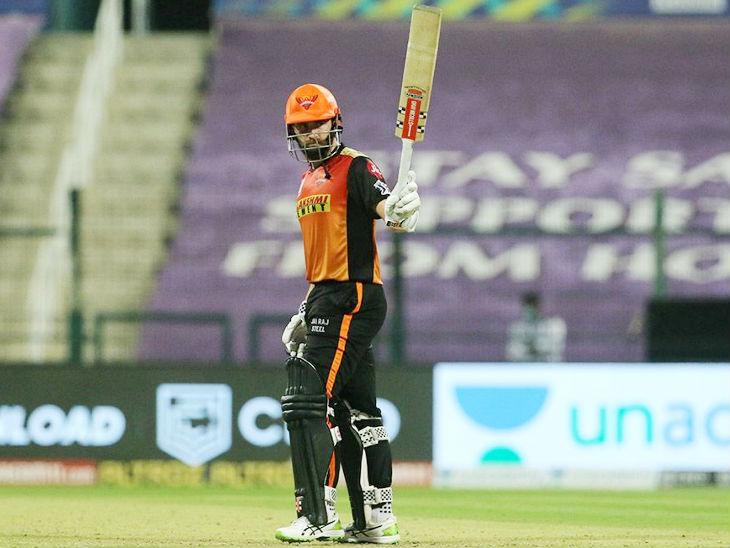 सनराइजर्स के लिए 45 बॉल पर सबसे ज्यादा 67 रन की पारी खेली, लेकिन वे टीम को जीत नहीं दिला सके। उन्होंने अपनी पारी में 4 छक्के और 5 चौके भी जड़े।
