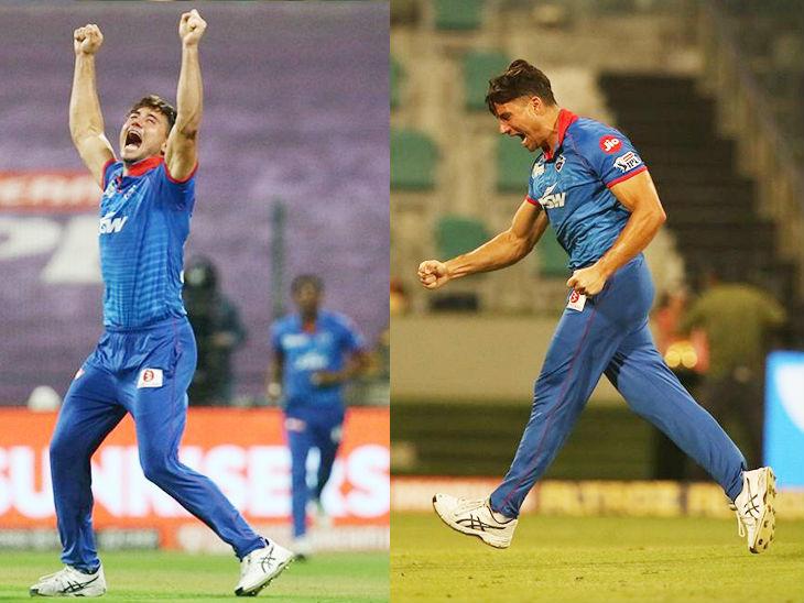ऑलराउंडर स्टोइनिस ने 3 ओवर में 26 रन देकर 3 विकेट लिए। उन्होंने प्रियम गर्ग, मनीष पांडे और केन विलियम्सन को पवेलियन भेजा।