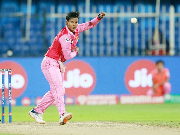 Dipti Sharma took 2 wickets and did not allow Supernovas to chase the target.