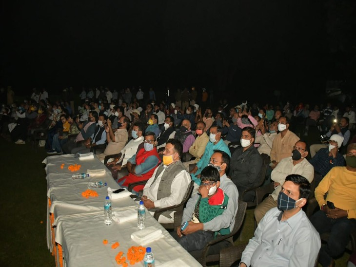 भगवान बुद्ध के जीवन पर बनी फिल्म को पहले दिन 100 लोगों ने देखा, 7.88 करोड़ रुपए की लागत से बने शो की शुरुआत|वाराणसी,Varanasi - Dainik Bhaskar