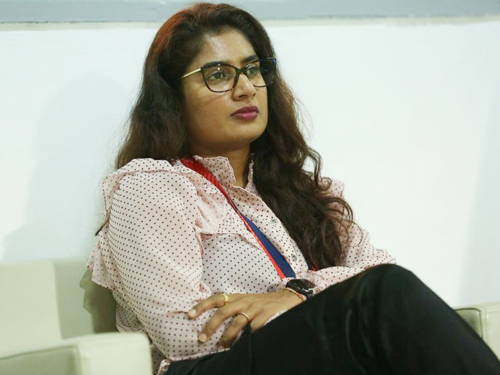 Velocity's captain Mithali Raj also visited the match.