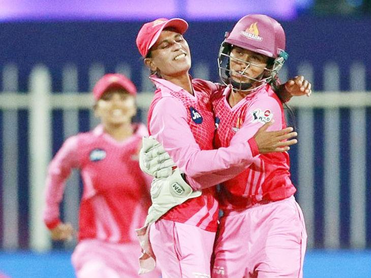 Salma Khatoon took 3 wickets.