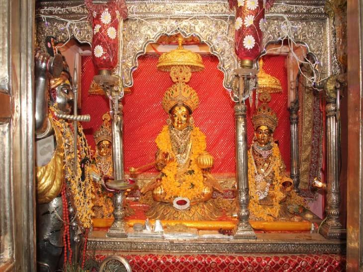 वाराणसी में मां अन्नपूर्णा का खजाना धनतेरस से अन्नकूट तक बटेगा, एक बार में पांच लोग ही करेंगे दर्शन|वाराणसी,Varanasi - Dainik Bhaskar
