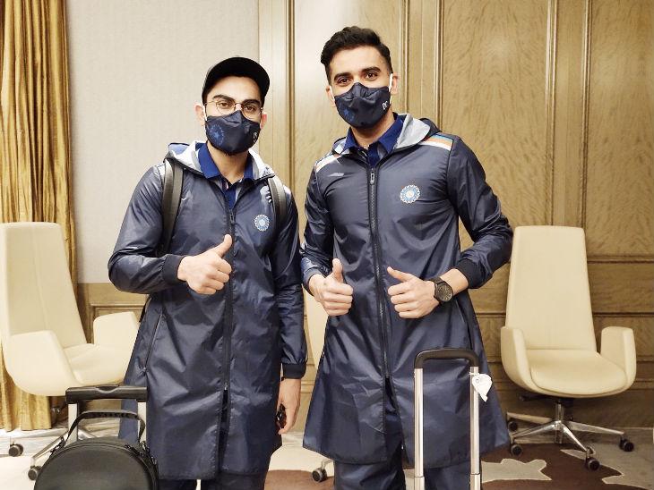 कोरोना काल में पहले टेस्ट के लिए रवाना हुई भारतीय टीम, रोहित फिलहाल NCA में करेंगे प्रैक्टिस|स्पोर्ट्स,Sports - Dainik Bhaskar