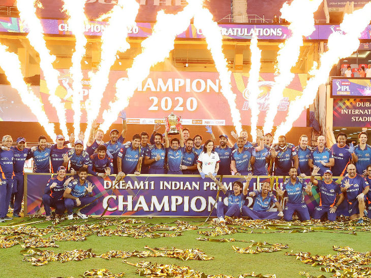 Mumbai defeated a team 4 times for the second consecutive time to win the title. Earlier in 2019, Mumbai won the title by defeating Chennai Superkings 4 matches in the season.