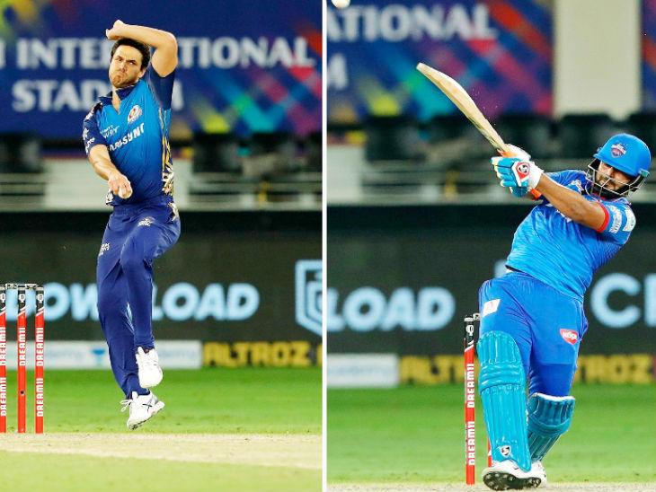 Nathan Coulter-Nile dismissed Delhi's batsmen from scoring more runs in the death over.