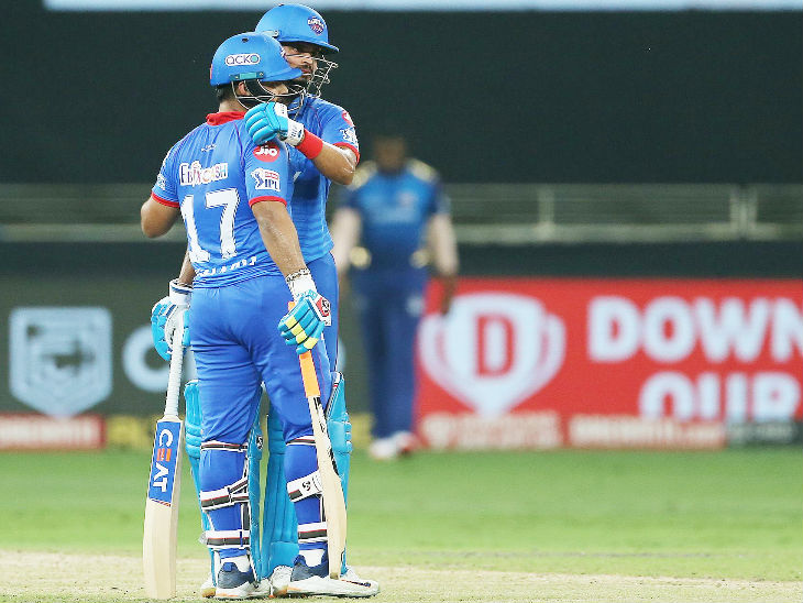Iyer took over his team by sharing 96 runs for the fourth wicket with Rishabh Pant.
