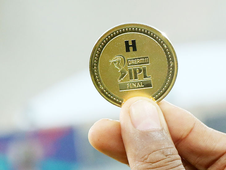 The same coin was tossed in the IPL final, which was won by Delhi Capitals captain Shreyas Iyer.