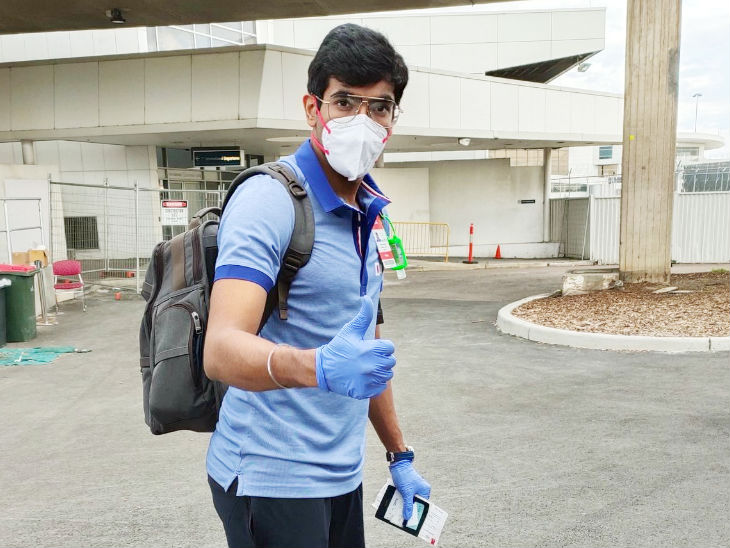 India's fast bowler Jasprit Bumrah arrived in Sydney and looked like this. This series is very important for him.