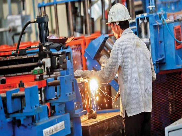 औद्योगिक विकास दर सितंबर में महज 0.2% रही, हालांकि 7 माह के बाद उद्योग क्षेत्र में दिखा विकास बिजनेस,Business - Dainik Bhaskar