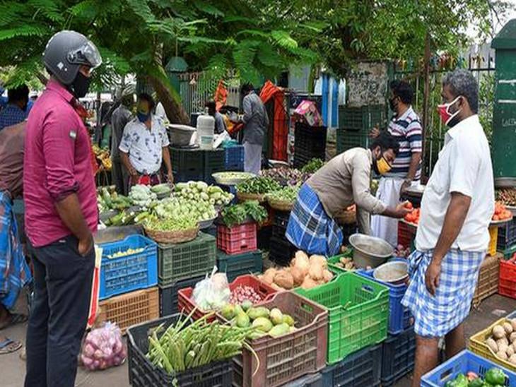 खुदरा महंगाई की दर अक्टूबर में और बढ़कर 7.61% पर पहुंची, सितंबर में 7.27% थी, गांवों में ज्यादा बढ़ी कीमतें बिजनेस,Business - Dainik Bhaskar