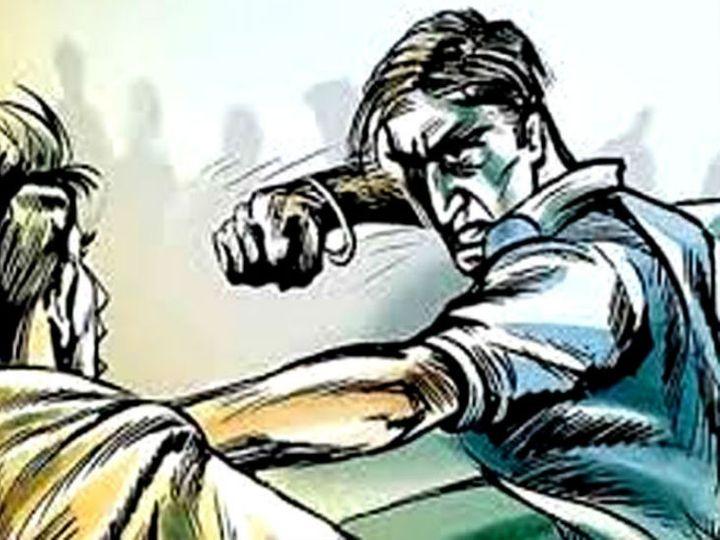 बाइक के सामने अड़े शराबी युवक, विरोध करने पर ईंटों से हमला कर किया अधमरा पानीपत,Panipat - Dainik Bhaskar