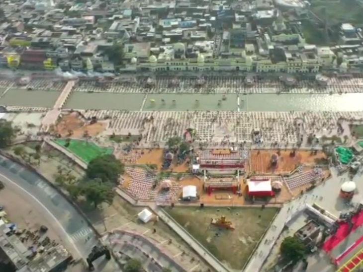अयोध्या में दीपोत्सव के लिए प्रशासन और आम लोगों ने जोरदार तैयारियां की हैं।