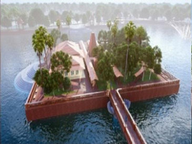 राम वनगमन पथ परियोजना के तहत सरकार मंदिर को ऐसा स्वरूप देना चाहती है।