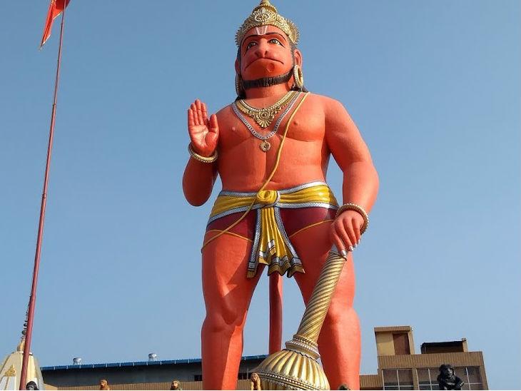 कर्नाटक के पंपापुर में लगाई जाएगी बजरंग बली की 215 मीटर ऊंची प्रतिमा; 12 सौ करोड़ रुपए आएगा खर्च|उत्तरप्रदेश,Uttar Pradesh - Dainik Bhaskar