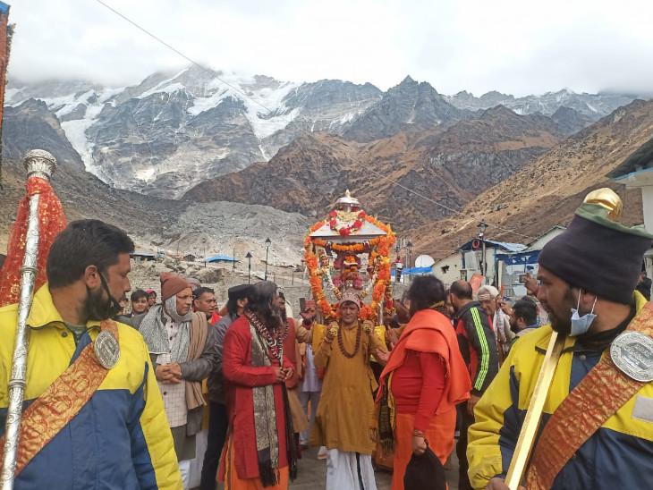 शीतकाल में केदारनाथ की पूजाएं उखीमठ में होंगी।