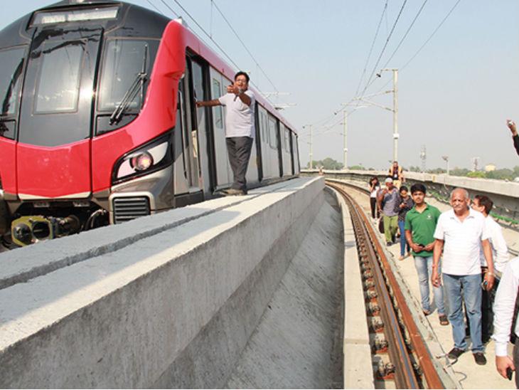 लखनऊ मेट्रो ने शहरवासियों से रूट के आसपास पतंग न उड़ाने की अपील की; कहा- विक्रेता भी जागरुक करें|लखनऊ,Lucknow - Dainik Bhaskar