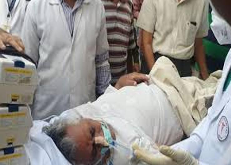 13 मई की रात को मास्टर भंवरलाल मेघवाल की तबियत बिगड़ने पर एसएमएस अस्पताल में भर्ती करवाया गया था।