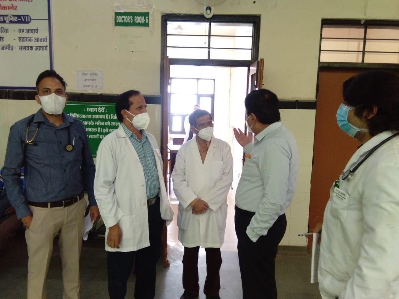 बीकानेर में कोरोना वैक्सीन के लिए चिकित्सा विभाग की सूची तैयार, मुख्यालय को भेजी रिपोर्ट बीकानेर,Bikaner - Dainik Bhaskar