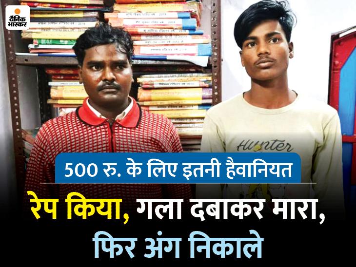 (दाएं से) अंकुल और बीरन को पुलिस ने गिरफ्तार कर जेल भेज दिया है। - Dainik Bhaskar
