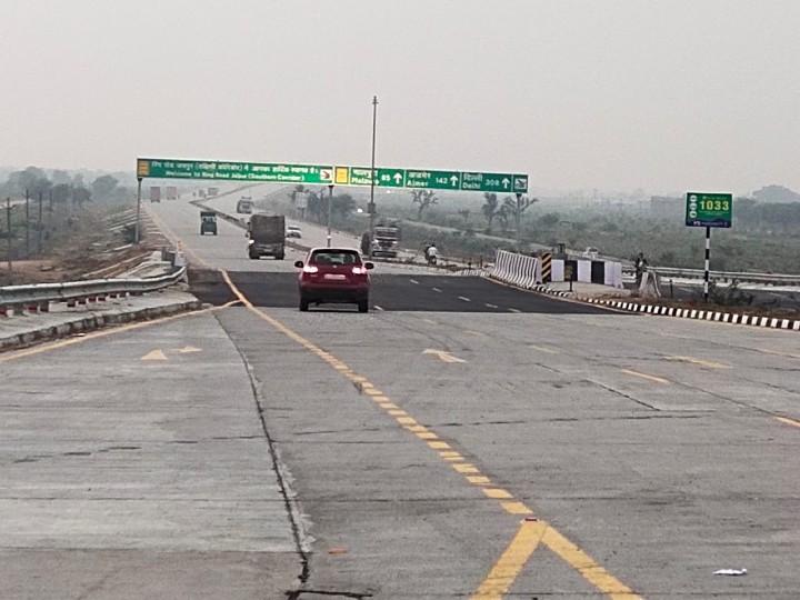 आगरा से अजमेर जाने वाले भारी वाहनों को शहर के बीच से नहीं गुजरना होगा, 20 हजार वाहनों का बोझ घटेगा|जयपुर,Jaipur - Dainik Bhaskar