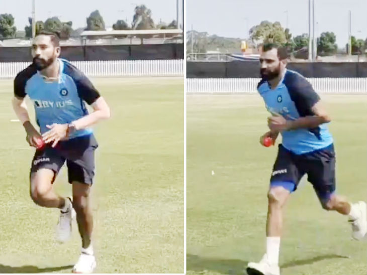 टेस्ट सीरीज के लिए प्रैक्टिस कर रहे कोहली; शमी-सिराज ने फेंकीं शॉर्ट गेंदें, BCCI ने शेयर किया वीडियो|स्पोर्ट्स,Sports - Dainik Bhaskar