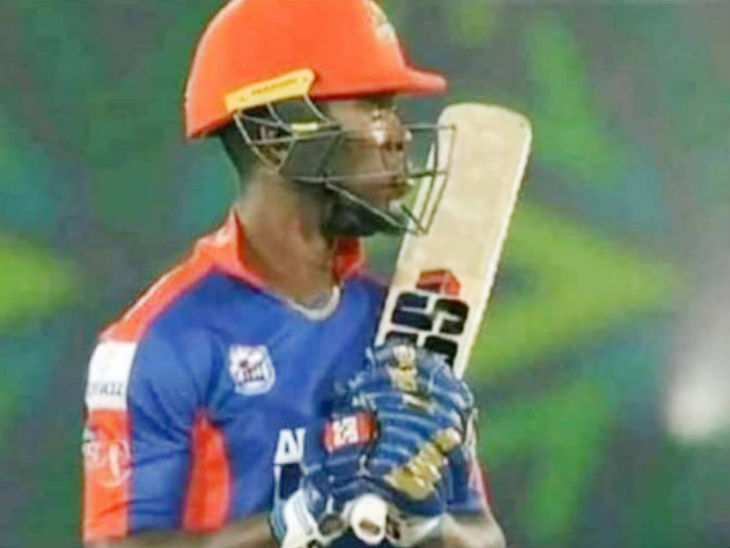 पाकिस्तानी लीग के लिए मुंबई इंडियंस की जर्सी पहनकर पहुंचे रदरफोर्ड, MI के ग्लव्स पहनकर मैच खेला|स्पोर्ट्स,Sports - Dainik Bhaskar