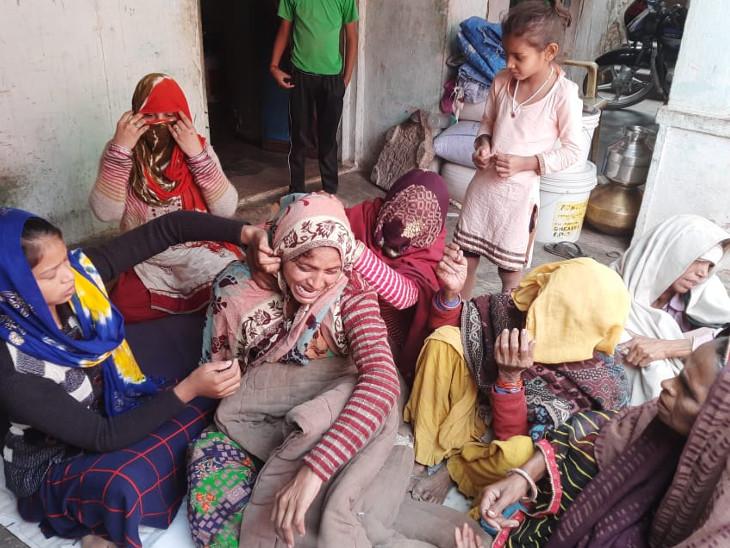 त्रिपुरा में तैनात भरतपुर के जवान जितेन्द्र की बीमारी से मौत, गुरुवार को होगी अंत्येष्टि|बयाना,bayana - Dainik Bhaskar
