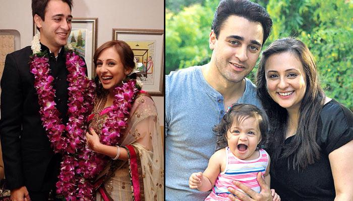 Imran and Avantika with daughter Imran.