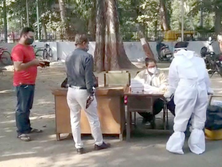 अहमदाबाद में मास्क न पहनने वालों की होगी कोरोना जांच, रिपोर्ट निगेटिव आई तो 1 हजार का जुर्माना गुजरात,Gujarat - Dainik Bhaskar