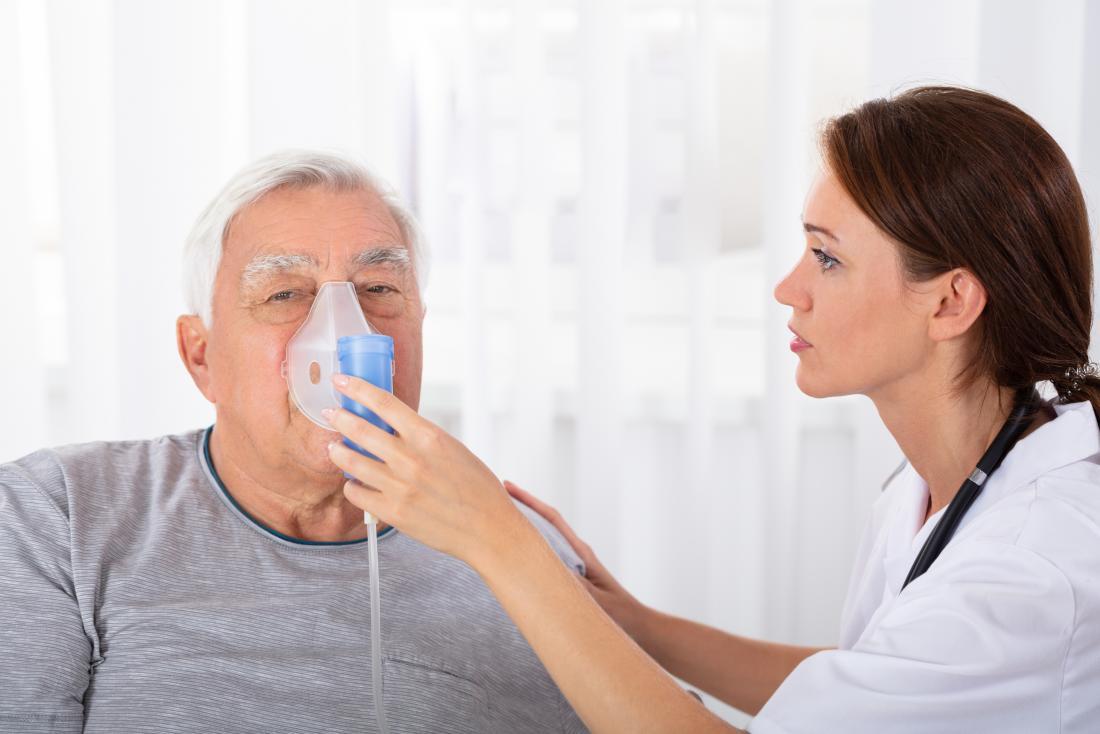 सीओपीडी की स्थिति गंभीर होने पर मरीज ऑक्सीजन देनी पड़ती है।